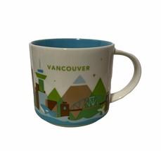 2017 14 oz Starbucks You Are Here Mug Vancouver - $29.67