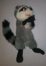 Vintage Disney Pocahontas Gigglin' Meeko Plush Raccoon Disney MATTEL1995 As Is - $17.81