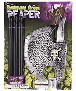 Jay Hats Costume Prop - 50 Inch Long Plastic Realistic Looking Reaper Ax... - $17.18
