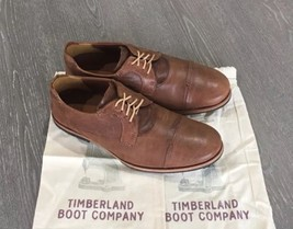 NEW Timberland Boot Company Wodehouse Cap Toe Oxford Brown Distressed Size 7M - $187.11