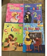 Sesame Street Educational Workbooks With Elmo Zoe Count Big Bird - Set O... - $13.99