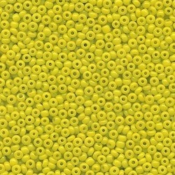 Primary image for 11/0 Seed Bead Rocaille Half Ounce Yellow 9