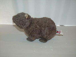 "Ganz Webkinz Plush Brown Wombat Soft Stuffed Animal Toy No Code 9"" - $9.79"