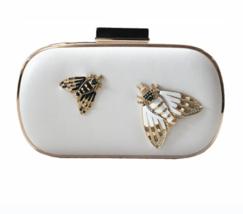 18cm Elegant White Lady Insect Decoration Handbag Vintage Woman Fashion ... - $855,18 MXN