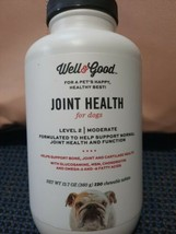 Well & Good Joint Health For Dogs Level 2 Moderate 120 Chewable Tablet 1... - $22.99