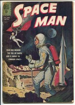 Space Man-Four Color Comics-#1253 1962-Dell-rocket cover-G - $31.53