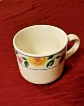 Vintage Rose Garden Stoneware Coffee Mug by Sakura sold Individually 4 Available - $4.95