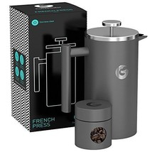 Large French Press Coffee Maker – Triple Filter, Vacuum Insulated Stainles - €49,02 EUR