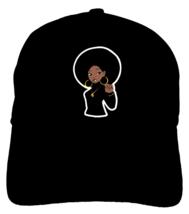Black Panther Party Sister Dad Hat baseball cap Angela Davis Natural Mel... - $12.99+