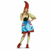 Disguise Ms. Gnome Garden Fairytale Story Adult Womens Halloween Costume... - $49.51