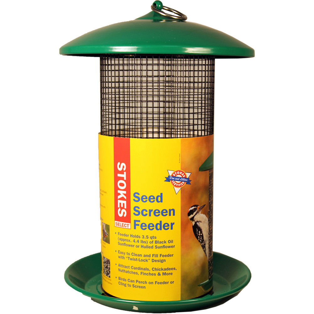Primary image for Classic Brands Green Stokes Seed Screen Feeder 4.3 Lb 617313381759