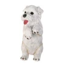 #10017278 *CLIMBING HANGING CUTIE WHITE TERRIER PUPPY - ASPEN* - $12.38