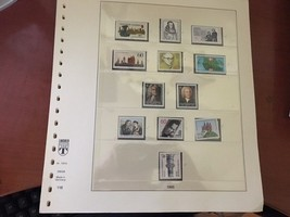 Germany Lindner Hingeless album pages - $12.00