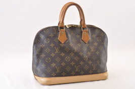 Louis Vuitton Monogram Alma Hand Bag M51130 Lv Auth 7995 - $298.00