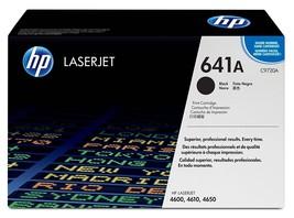 HP 641A Black Original LaserJet Toner Cartridge (C9720A), Yield 9000 - $248.44