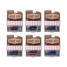 The Hobby Shop Series 6, Set of 6 Cars 1/64 Diecast Models by Greenlight... - $48.49