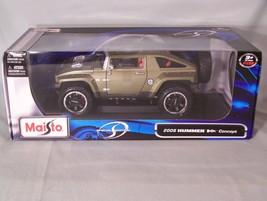 2008 Hummer Hx Concept 1:18 scale diecast Maisto Special Edition - $49.59