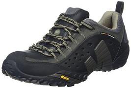 Merrell Men's Intercept Smooth Black Leather Sneaker 11.5 M - $114.97