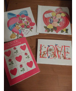 Marian Heath Greeting Cards Inc. Valentine's Day Set of assorted Cards New - $3.96+