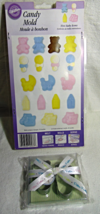 Baby Foot Cookie Cutters & Wilton Mini Baby Icons Candy Mold - $11.81 CAD
