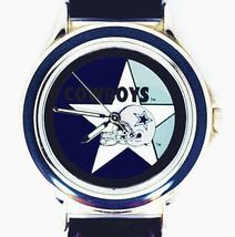 Dallas Cowboys NFL Fossil Relic, Unworn Silver Tone Case Black Insert, Watch $79 - $78.06