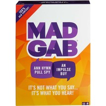 Mad Gab Timed Card Game - It's Not What You Say, It's What You Hear! - A... - $12.58
