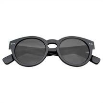 Vintage Moda Bold Círculo Gafas de Sol Redondas Con / Cerradura Puente - $11.48