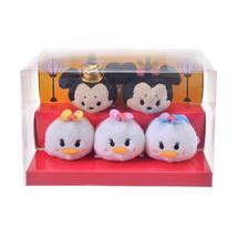 Disney Store Japan TSUM TSUM Mickey & Friends Mini Hina Doll Set Hinamat... - $82.17
