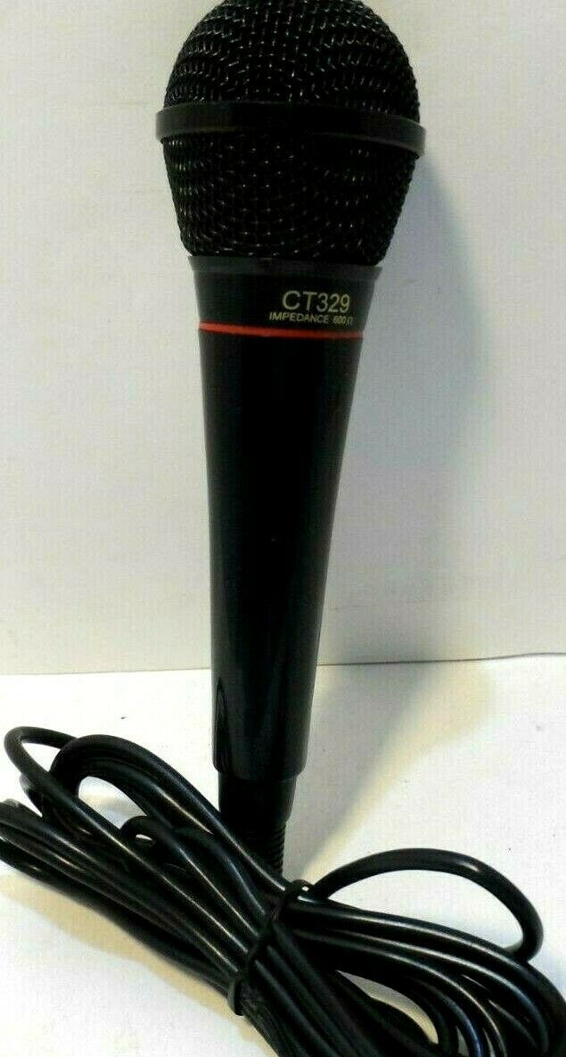 Primary image for Optimus CT329 Unidirectional Dynamic Microphone - 600 Ohm Impedance Mic Aux NEW