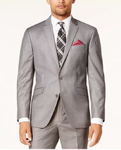 Kenneth Cole Reaction Men's Ready Flex Basketweave Slim-Fit Jacket, 44S - $89.07