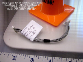 """Sharp Aquos 42"""" LC-42D62U Cable from Main Board @[LP] to T-Con Board @[CN2] - $9.73"""