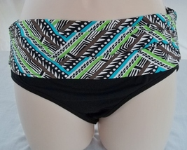 COCO REEF TANKINI & REVERSIBLE HIGH WAISTED/ROLL OVER BOTTOM,SIZE 32C/SMALL image 14