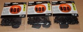 "Halloween Craft Kits Creatology 3pks Foam Sticker Pumpkins 234pcs 3"" BOO... - $5.49"