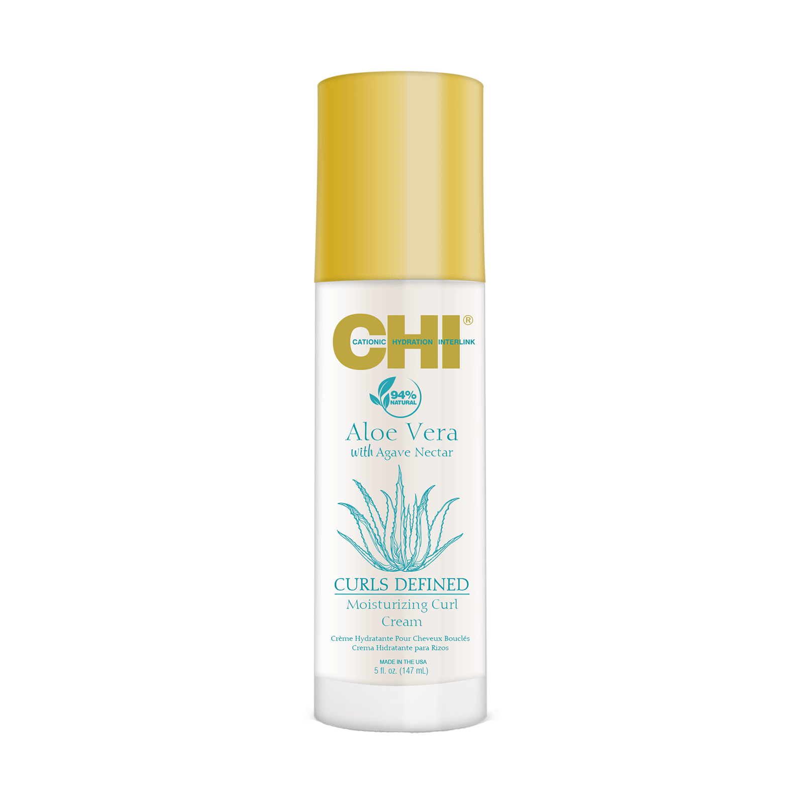 Farouk CHI Aloe Vera Moisturizing Curl Cream, 5oz