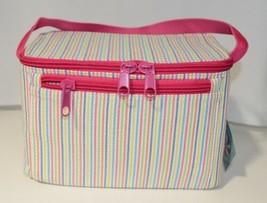 Oh Mint 1609999STRIPE Rainbow Stripe Seersucker Lunch Box image 2
