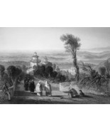 ITALY Varese - 1864 Fine Quality Print Engraving - $39.60