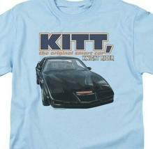 Knight Rider KITT the original smart car retro 80s TV series graphic tee NBC555 image 2