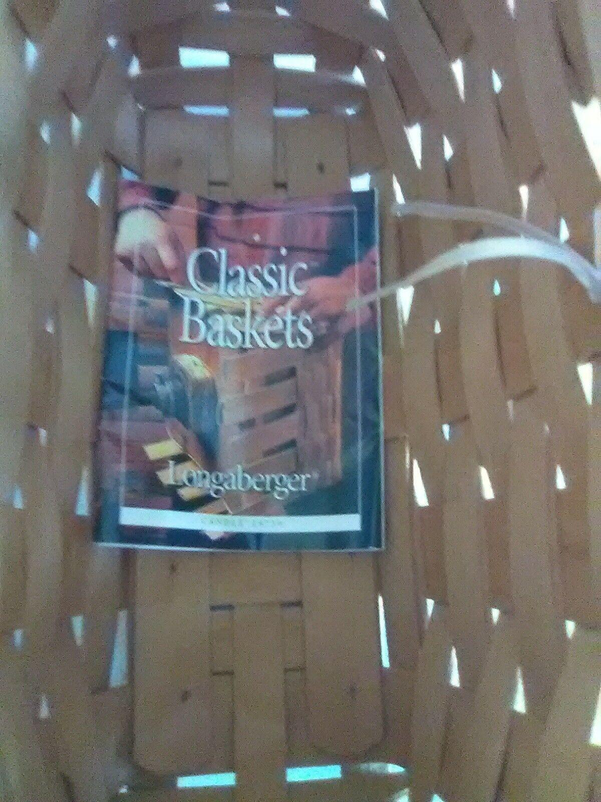 Longaberger Fixed Handle Candle Basket - 1999 image 3
