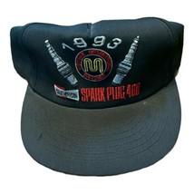 vintage OG 1993 Champion Spark Plug 400 Nascar Race Hat American Need Made USA - $49.49