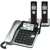 Att Dect 6.0 Corded And Cordless 2-handset Phone System With Call Waitin... - $99.95