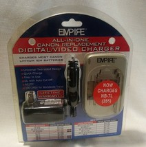 Empire All-in-one Canon Replacement Digital/Video Charger DVU CAN 1 R1 - $21.77