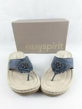 Easy Spirit Womens Slide Sandals Shoes Blue Size 10 EUC - $19.96
