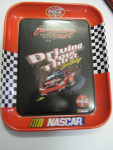 Coca Cola Metal Nascar Tray - New - - $11.39