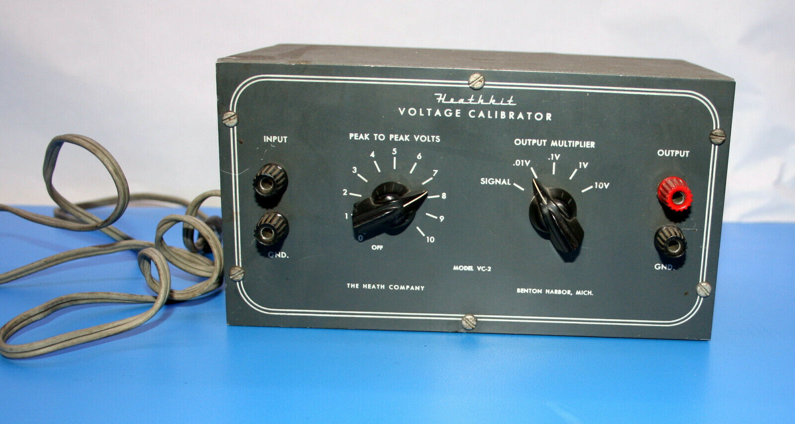 Primary image for Heathkit voltage calibrator VC-2