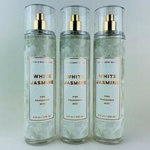 3 Bath & Body Works White Jasmine Fine Fragrance Mist Spray 8 fl.oz 236ml - $25.86