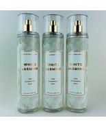 3 Bath & Body Works White Jasmine Fine Fragrance Mist Spray 8 fl.oz 236ml - $27.67