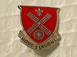 US Military 52nd Engineer Battalion Insignia Pin - Nous Servons - $10.00