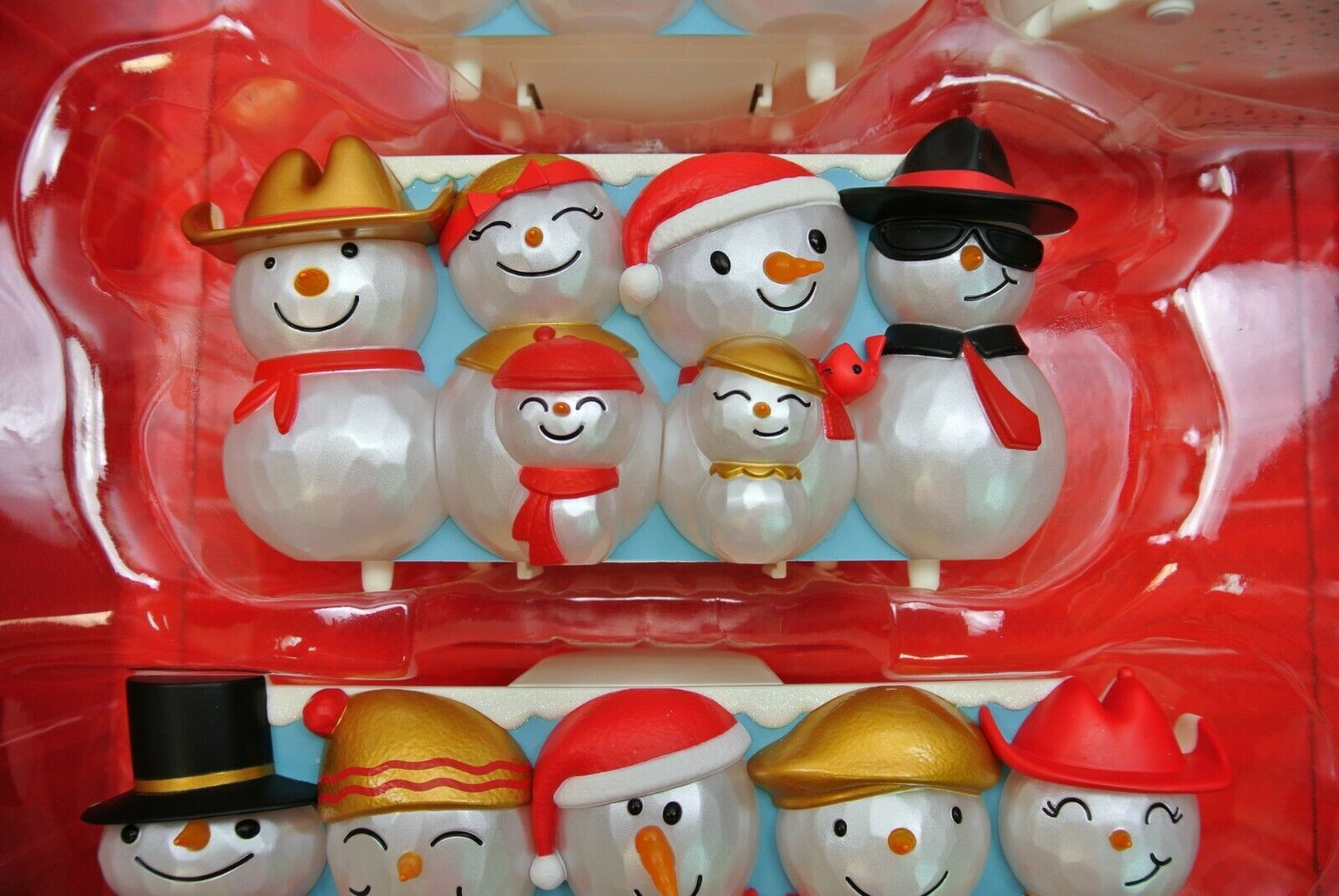 Hallmark Christmas Concert Snowmen Collector's Set Special Edition - Repaint image 6