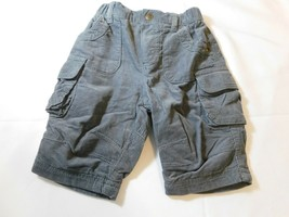 The Children's Place Baby Boy's Pants Corduroy pant Grey Size 0-3 Months NWT - $16.23