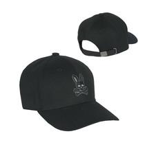 Psycho Bunny Men's Cotton Embroidered Strapback Baseball Cap Hat B6A328Q1HT image 1